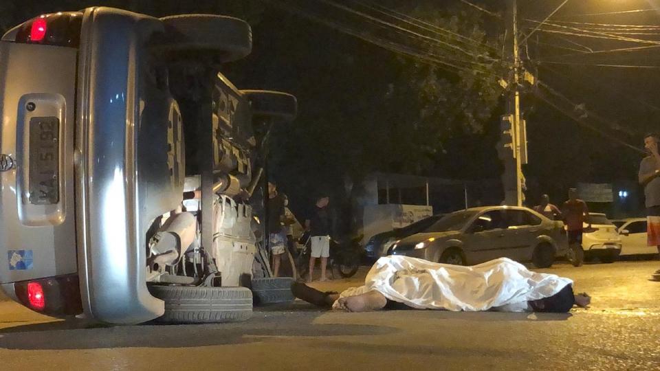 Homem morre atropelado após discussão em bar de Cuiabá