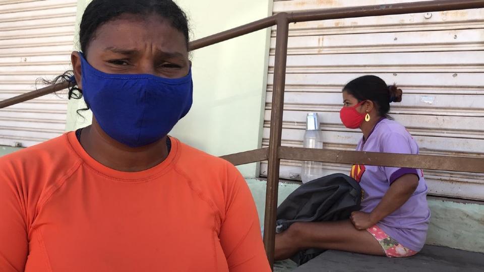 Mara tem sete filhos e mora no bairro Planalto.