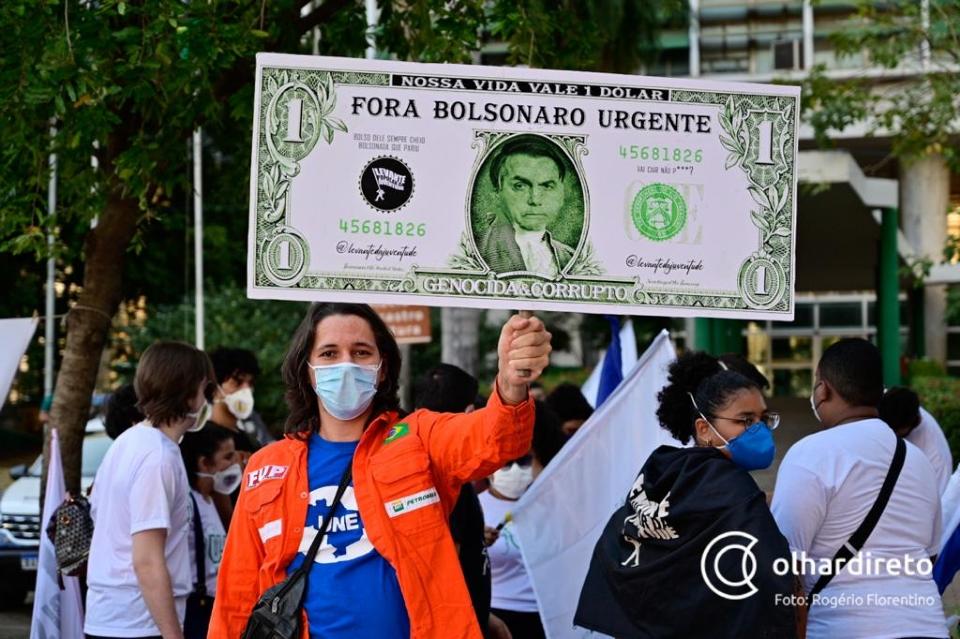 Ato 'Fora Bolsonaro'