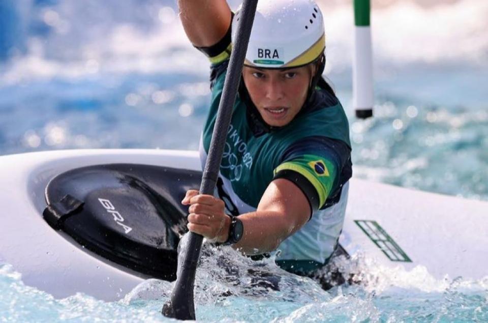 Mato-grossense garante vaga na semifinal de canoagem das Olimpíadas