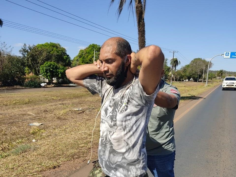 Homem que atropelou e matou guia em Chapada já foi cunhado da vítima e foi encontrado bebendo em bar
