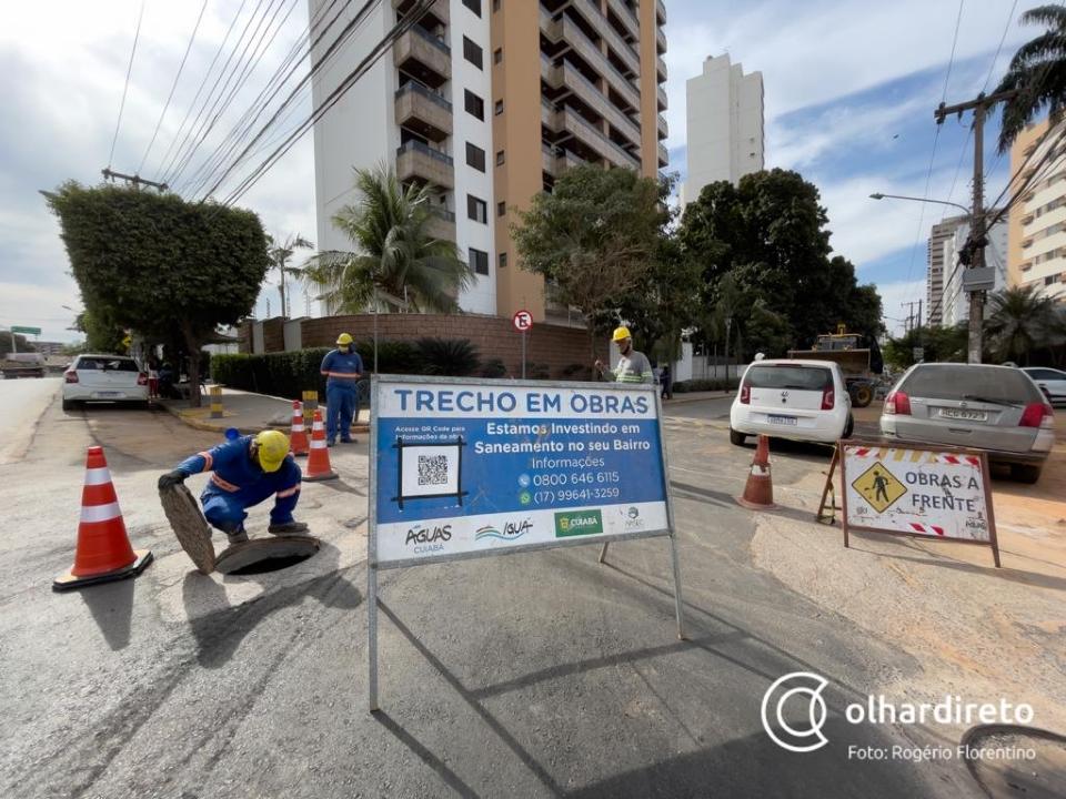 Estevão de Mendonça passa por obras pela terceira vez; comerciantes e motoristas reclamam de interrupção do trânsito