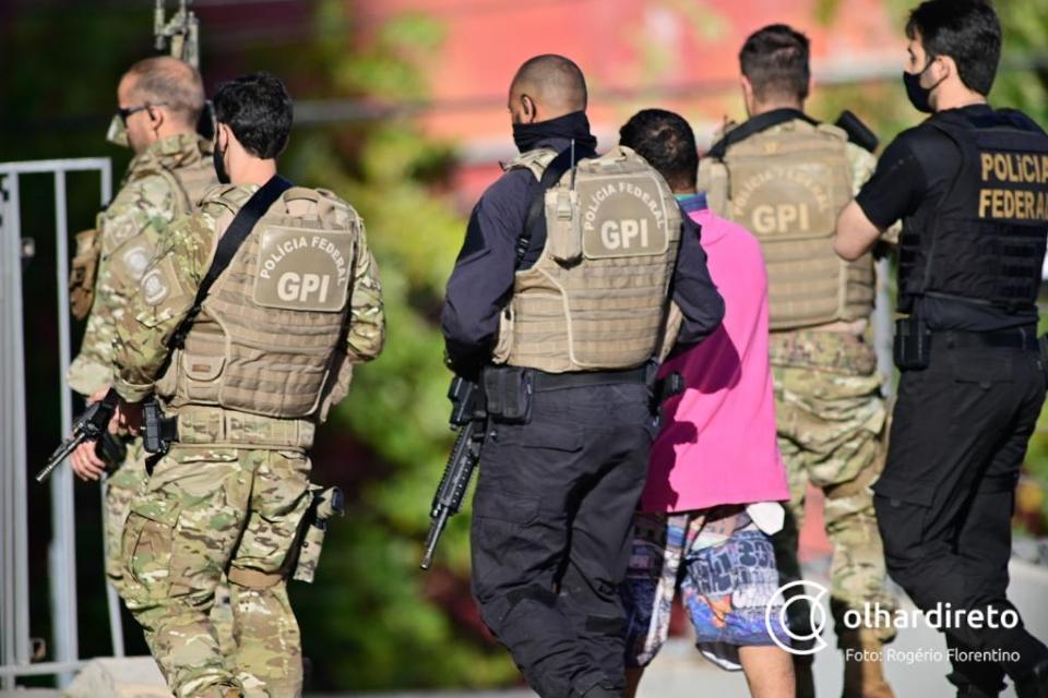 PF deflagra operação contra membros do Comando Vermelho que invadiram casa de delegado