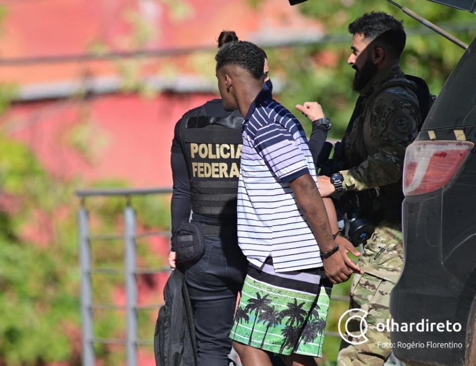 Veja os nomes dos membros do CV presos pela Polícia Federal por envolvimento em roubo a casas de luxo