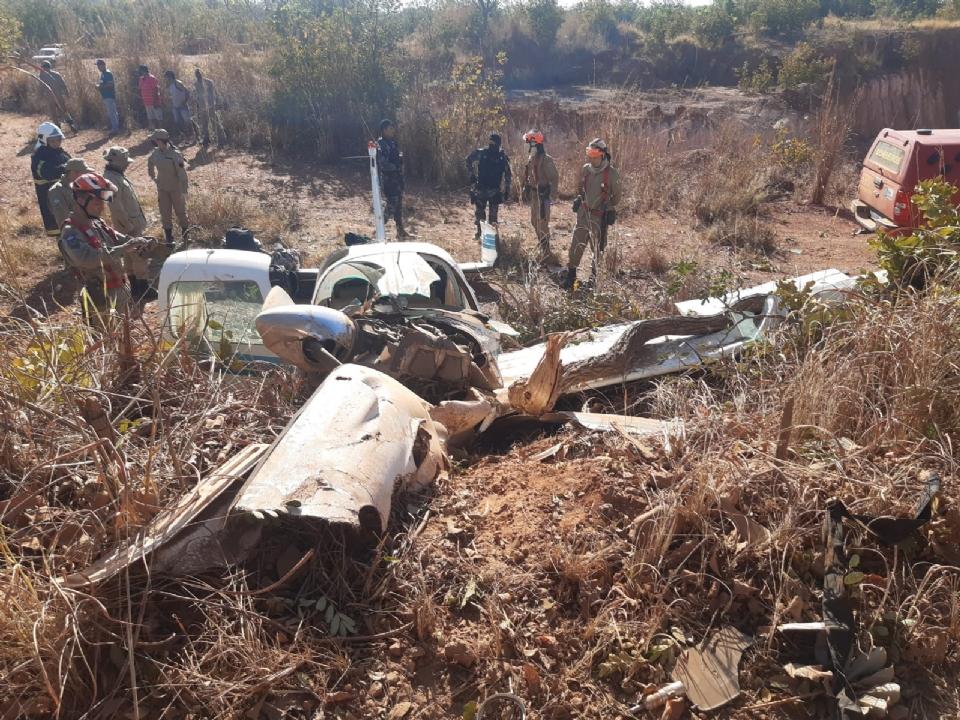 Médico que sobreviveu a queda de aeronave por falta de combustível segue internado na UTI