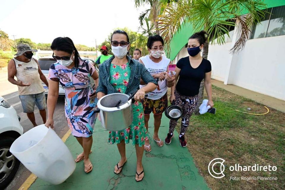 Sem água, moradores de VG cobram DAE e prefeitura