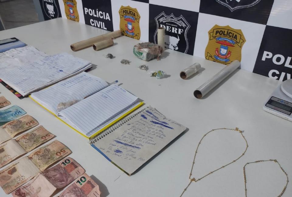Preso traficante que utilizava casa da avó para esconder drogas; suspeito era responsável por várias 'biqueiras'