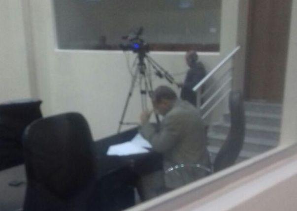 O deputado Zé Domingos, isolado no Plenário