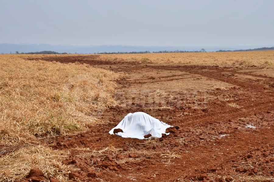 Corpo de homem que estava desaparecido há 3 dias é encontrado em área rural