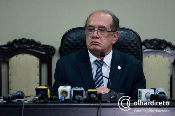 Gilmar Mendes pede investigação de áudio em que é acusado de corrupção
