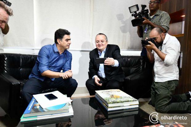 """Emanuel Pinheiro vai participar de campanha eleitoral contra Pedro Taques: """"vou com grupo que me elegeu"""""""