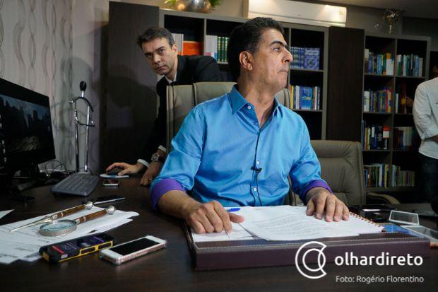 Assessoria de Emanuel Pinheiro esclareceu que filho não tem interfere na gestão do pai