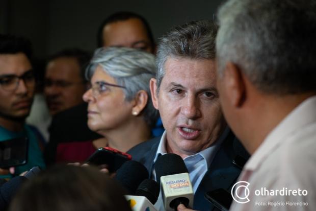 Mauro adia apoio ao Senado e quer candidato mais próximo do grupo político
