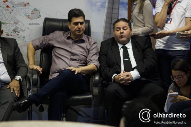 Prefeito crê em ilegalidade de CPI, mas afirma respeitar decisão da Câmara de Cuiabá