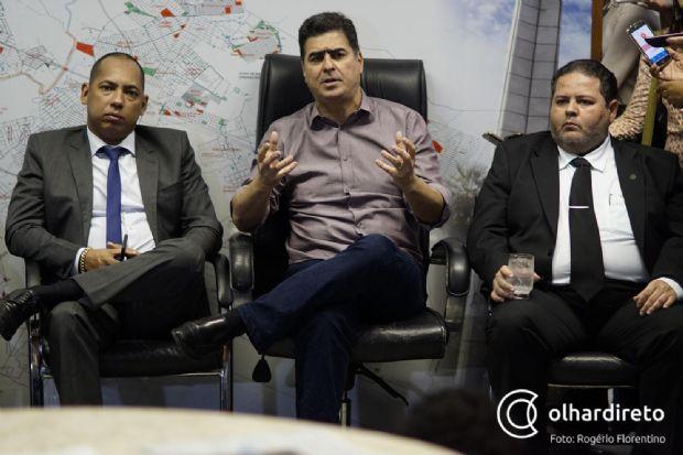 """Emanuel Pinheiro vai sancionar lei que institui 13º salário para vereadores de Cuiabá: """"eu não interfiro"""""""