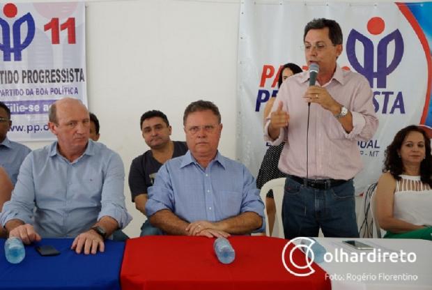 Chapa proporcional e relação entre Sachetti e Blairo foram decisivas para manter PP com Fagundes
