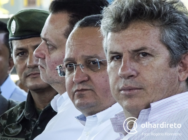 Mendes e Taques se reúnem pela primeira vez e Blairo Maggi dá conselho a democrata