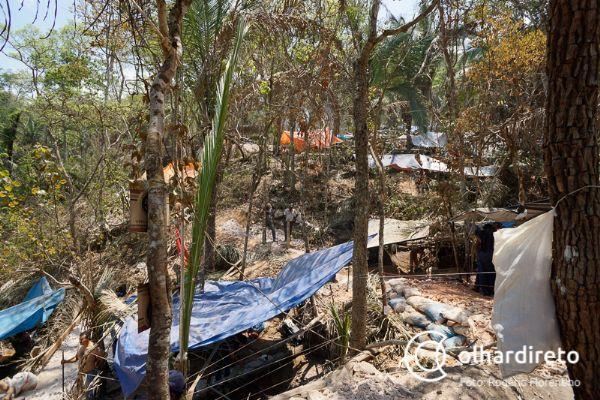 Oito pessoas são presas tentando invadir área do garimpo em Pontes e Lacerda