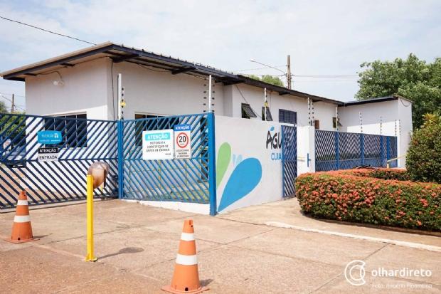 Chuva causa pane elétrica em estação e mais de 150 bairros de Cuiabá ficam sem água