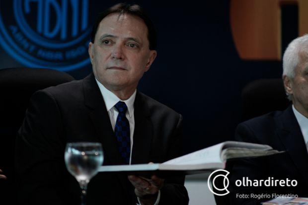 Antônio Joaquim pediu aposentadoria do TCE para ser candidato ao governo de Mato Grosso