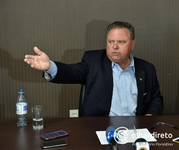 """Maggi não teme perder cargo de ministro e afirma que """"é do presidente, ele decide"""""""