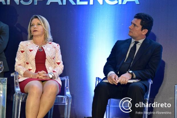 Para Selma Arruda, entrada de Moro no Governo chancela luta contra corrupção