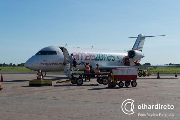 Duas companhias aéreas têm intenção de operar voos internacionais em MT