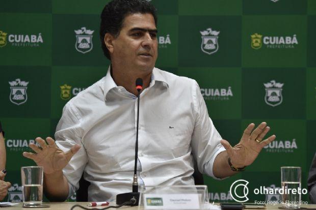 'Neutro', prefeito diz que Fagundes não deve recuar e sugere nomes para vice