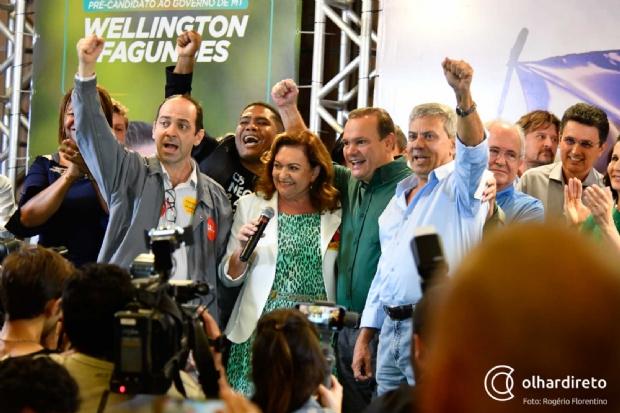 Veja lista  de candidatos a deputado estadual e federal registrados em ata pela coligação de Wellington Fagundes
