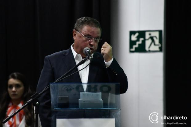 Blairo Maggi cita o exemplo de Mato Grosso sobre as nascentes de água