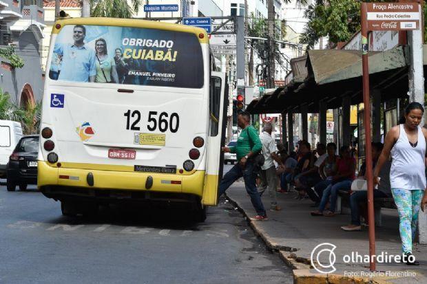 Nova tarifa de R$ 3,85 para os ônibus deve entrar em vigor esta semana em Cuiabá