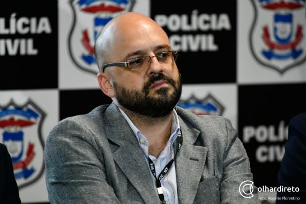 Delegado Luiz, da Diretoria de Inteligência da PJC