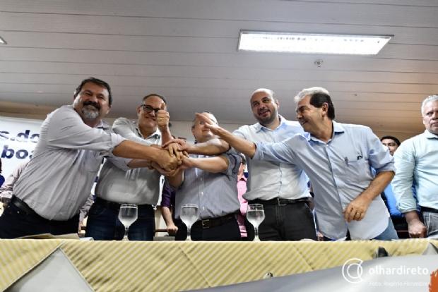 Em Cuiabá, Paulinho da Força filia Leonardo Albuquerque no Solidariedade e