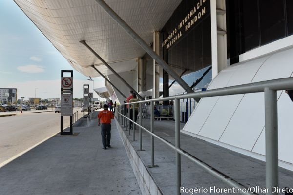 Com prazo estourando, aeroporto Marechal Rondon têm 75,5% das obras executadas