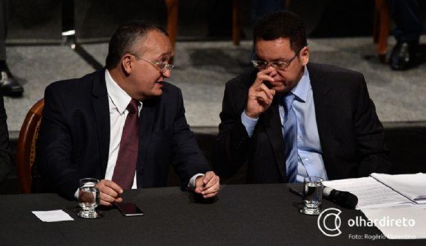 Pedro Taques e Eduardo Botelho têm mantido um diálogo sem sobressaltos