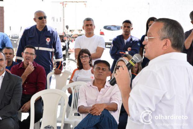 """Taques diz que não é """"achista"""" e coloca força-tarefa para contribuir com Luiz Soares na Saúde"""