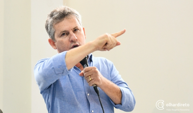 Mendes nega que empresário que aparece em vídeo com Valtenir seja seu coordenador financeiro