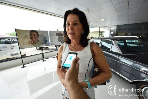 Rosana Martinelli articular a evolução do Aeroporto João Figueiredo, em Sinop