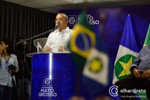 Com suspeita de pneumonia e problemas estomacais, Pedro Taques cancela agenda para tratamento de saúde