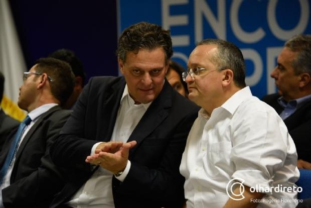 Carlos Fávaro entrega carta de renúncia ao cargo de vice-governador na Assembleia Legislativa
