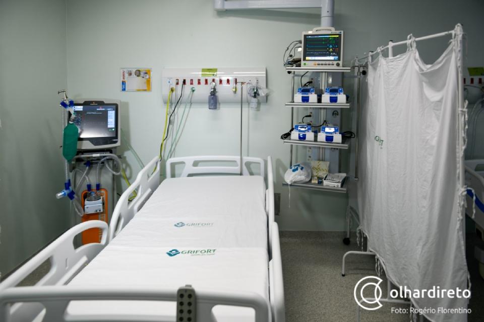 MT tem 16 hospitais públicos com taxa de ocupação de UTIs entre 90% e 100%; 41 mortes em 24h