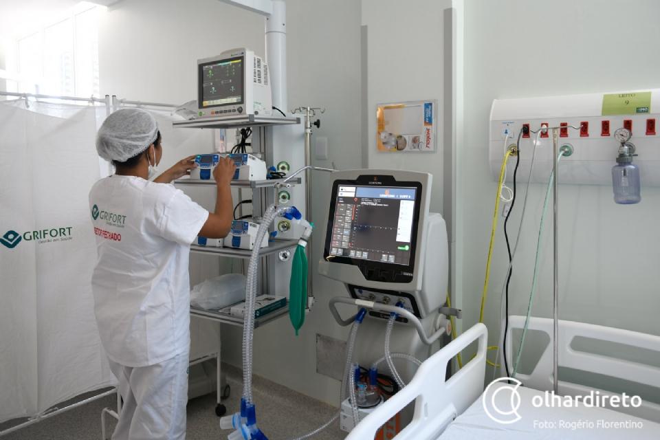 Cuiabá tem menor média diária de mortes por Covid-19 e número de internações cai 28%