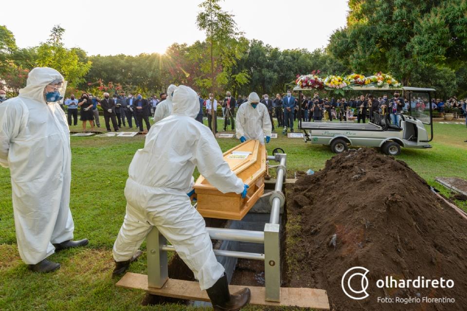 Maio foi o quinto pior mês de mortes por Covid-19 desde o início da pandemia em Mato Grosso