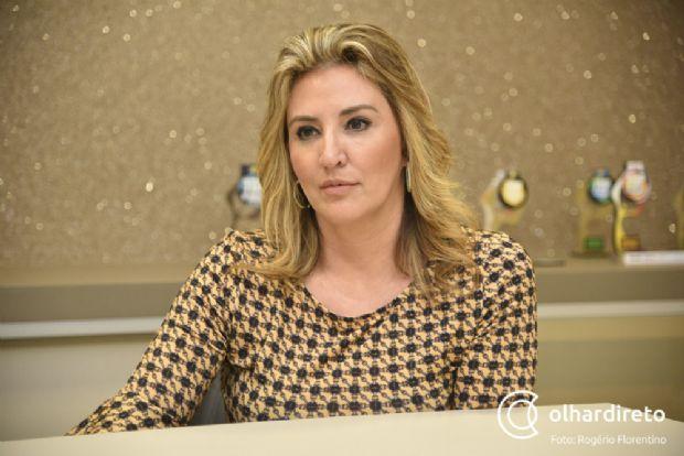 Primeira-dama de Cuiabá diz que prefere atuar nos bastidores da gestão de Emanuel Pinheiro