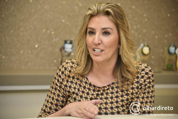 Primeira-dama entrega 15 mil cobertores a entidades sociais pelo programa Aquece Cuiabá
