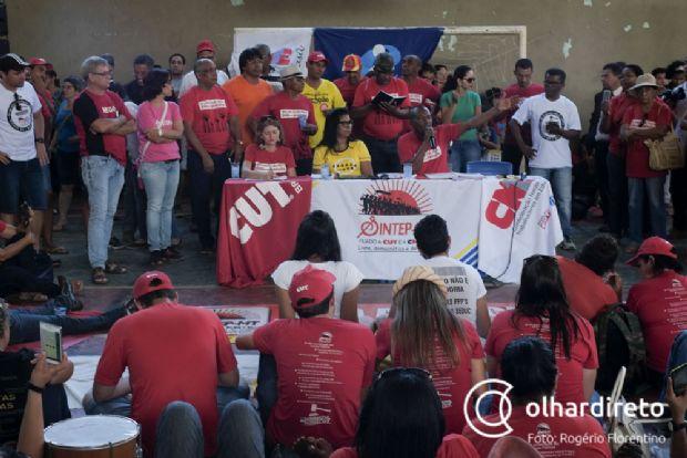 Sintep vai aderir a greve geral contra reforma da previdência e categoria fará ato na Alencastro