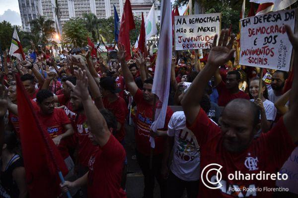 PT em MT se une a movimentos sociais nesta quinta-feira para protestar contra condenação de Lula