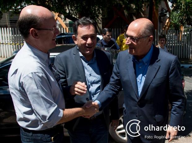 Em uma só tacada, PSDB tenta aproximar Alckmin do agronegócio e ajudar Pedro Taques