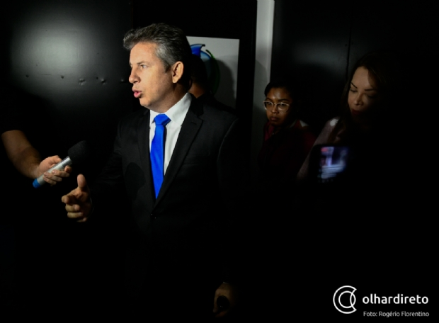 Mauro Mendes diz que Taques jogou nome da PM na lama e promete valorizar policial