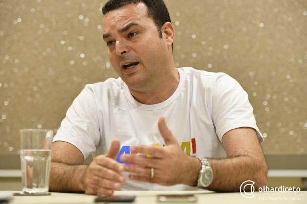 Pré-candidato a deputado federal pela chapa de Taques, Marrafon diz que não apoia Bolsonaro
